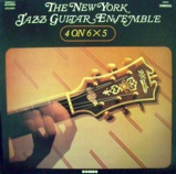New York Jazz Guitar Ensemble 4 on 6 X 5